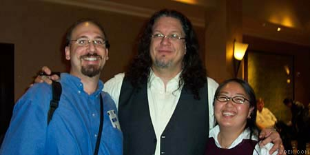 Photo of Joe & Judy with Penn Jillette.