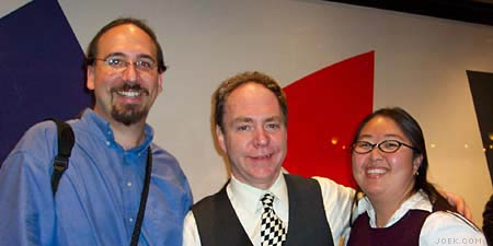 Photo of Joe & Judy with Teller.