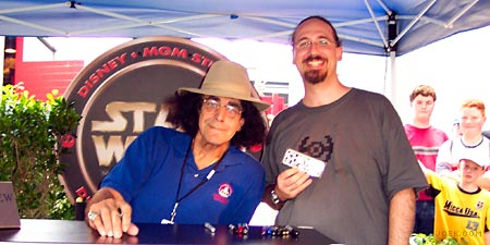 Peter Mayhew (Chewbacca) and Myself