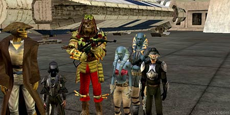 From left to right: Tom (Stajs & Sniipe), Joe (Jyyobacca & Weena), and Adam (Lodrake & Adakaz).